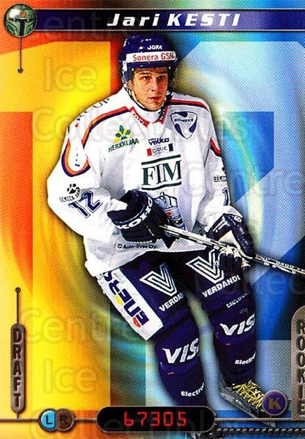 2000-01 Finnish Cardset #146 Jari Kesti<br/>6 In Stock - $2.00 each - <a href=https://centericecollectibles.foxycart.com/cart?name=2000-01%20Finnish%20Cardset%20%23146%20Jari%20Kesti...&quantity_max=6&price=$2.00&code=85176 class=foxycart> Buy it now! </a>