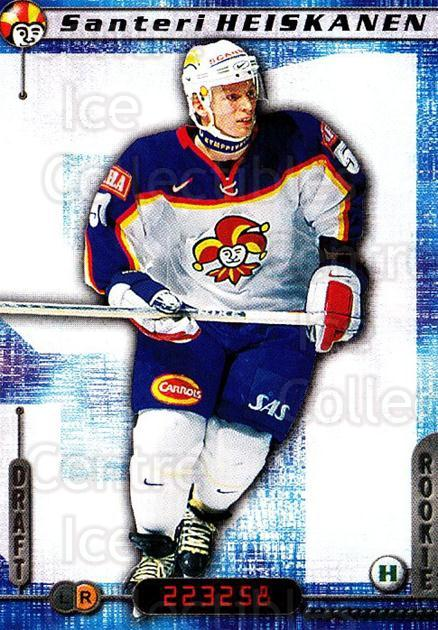 2000-01 Finnish Cardset #162 Santeri Heiskanen<br/>6 In Stock - $2.00 each - <a href=https://centericecollectibles.foxycart.com/cart?name=2000-01%20Finnish%20Cardset%20%23162%20Santeri%20Heiskan...&price=$2.00&code=85193 class=foxycart> Buy it now! </a>