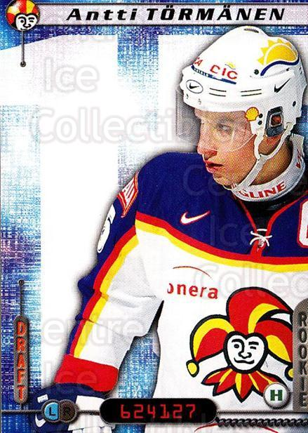 2000-01 Finnish Cardset #163 Antti Tormanen<br/>6 In Stock - $2.00 each - <a href=https://centericecollectibles.foxycart.com/cart?name=2000-01%20Finnish%20Cardset%20%23163%20Antti%20Tormanen...&price=$2.00&code=85194 class=foxycart> Buy it now! </a>