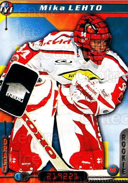 2000-01 Finnish Cardset #168 Mika Lehto<br/>6 In Stock - $2.00 each - <a href=https://centericecollectibles.foxycart.com/cart?name=2000-01%20Finnish%20Cardset%20%23168%20Mika%20Lehto...&price=$2.00&code=85198 class=foxycart> Buy it now! </a>