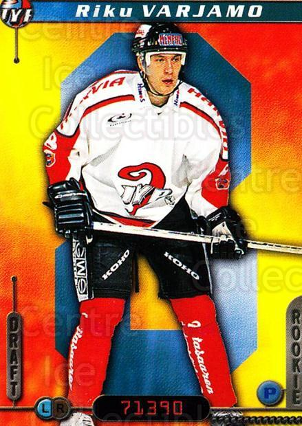 2000-01 Finnish Cardset #171 Riku Varjamo<br/>6 In Stock - $2.00 each - <a href=https://centericecollectibles.foxycart.com/cart?name=2000-01%20Finnish%20Cardset%20%23171%20Riku%20Varjamo...&quantity_max=6&price=$2.00&code=85202 class=foxycart> Buy it now! </a>