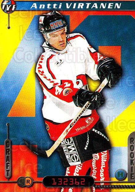 2000-01 Finnish Cardset #177 Antti Virtanen<br/>5 In Stock - $2.00 each - <a href=https://centericecollectibles.foxycart.com/cart?name=2000-01%20Finnish%20Cardset%20%23177%20Antti%20Virtanen...&quantity_max=5&price=$2.00&code=85208 class=foxycart> Buy it now! </a>