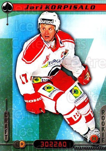2000-01 Finnish Cardset #226 Jari Korpisalo<br/>6 In Stock - $2.00 each - <a href=https://centericecollectibles.foxycart.com/cart?name=2000-01%20Finnish%20Cardset%20%23226%20Jari%20Korpisalo...&quantity_max=6&price=$2.00&code=85257 class=foxycart> Buy it now! </a>