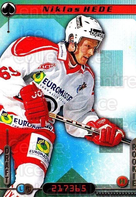 2000-01 Finnish Cardset #230 Niklas Hede<br/>1 In Stock - $2.00 each - <a href=https://centericecollectibles.foxycart.com/cart?name=2000-01%20Finnish%20Cardset%20%23230%20Niklas%20Hede...&price=$2.00&code=85262 class=foxycart> Buy it now! </a>