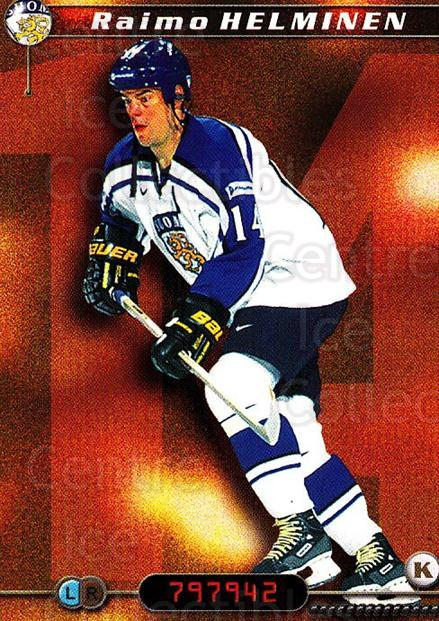 2000-01 Finnish Cardset #235 Raimo Helminen<br/>4 In Stock - $2.00 each - <a href=https://centericecollectibles.foxycart.com/cart?name=2000-01%20Finnish%20Cardset%20%23235%20Raimo%20Helminen...&price=$2.00&code=85266 class=foxycart> Buy it now! </a>