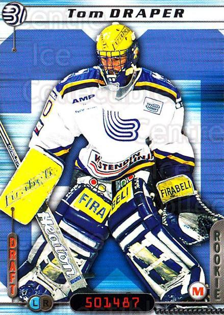 2000-01 Finnish Cardset #244 Tom Draper<br/>3 In Stock - $2.00 each - <a href=https://centericecollectibles.foxycart.com/cart?name=2000-01%20Finnish%20Cardset%20%23244%20Tom%20Draper...&quantity_max=3&price=$2.00&code=85276 class=foxycart> Buy it now! </a>