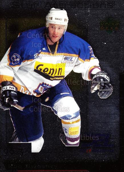 2000-01 German DEL Star Attractions #7 Bob Sweeney<br/>13 In Stock - $3.00 each - <a href=https://centericecollectibles.foxycart.com/cart?name=2000-01%20German%20DEL%20Star%20Attractions%20%237%20Bob%20Sweeney...&quantity_max=13&price=$3.00&code=85289 class=foxycart> Buy it now! </a>