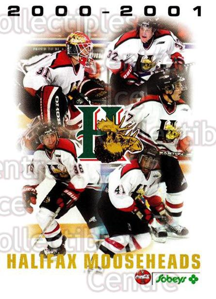 2000-01 Halifax Mooseheads #26 Header Card, Checklist<br/>6 In Stock - $3.00 each - <a href=https://centericecollectibles.foxycart.com/cart?name=2000-01%20Halifax%20Mooseheads%20%2326%20Header%20Card,%20Ch...&price=$3.00&code=85479 class=foxycart> Buy it now! </a>