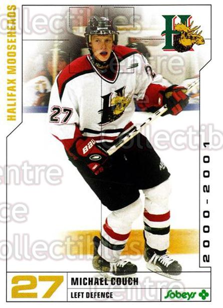 2000-01 Halifax Mooseheads #3 Michael Couch<br/>5 In Stock - $3.00 each - <a href=https://centericecollectibles.foxycart.com/cart?name=2000-01%20Halifax%20Mooseheads%20%233%20Michael%20Couch...&quantity_max=5&price=$3.00&code=85480 class=foxycart> Buy it now! </a>