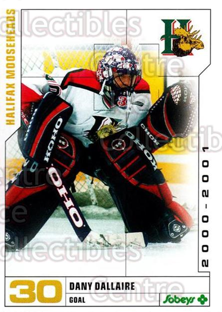 2000-01 Halifax Mooseheads #4 Dany Dallaire<br/>5 In Stock - $3.00 each - <a href=https://centericecollectibles.foxycart.com/cart?name=2000-01%20Halifax%20Mooseheads%20%234%20Dany%20Dallaire...&quantity_max=5&price=$3.00&code=85481 class=foxycart> Buy it now! </a>