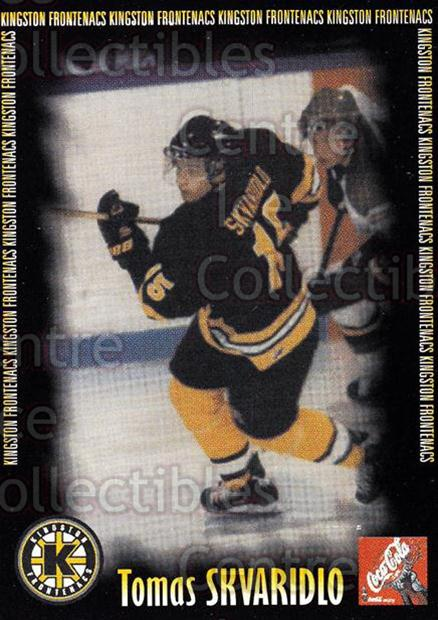 2000-01 Kingston Frontenacs #17 Tomas Skvaridlo<br/>7 In Stock - $3.00 each - <a href=https://centericecollectibles.foxycart.com/cart?name=2000-01%20Kingston%20Frontenacs%20%2317%20Tomas%20Skvaridlo...&price=$3.00&code=85614 class=foxycart> Buy it now! </a>