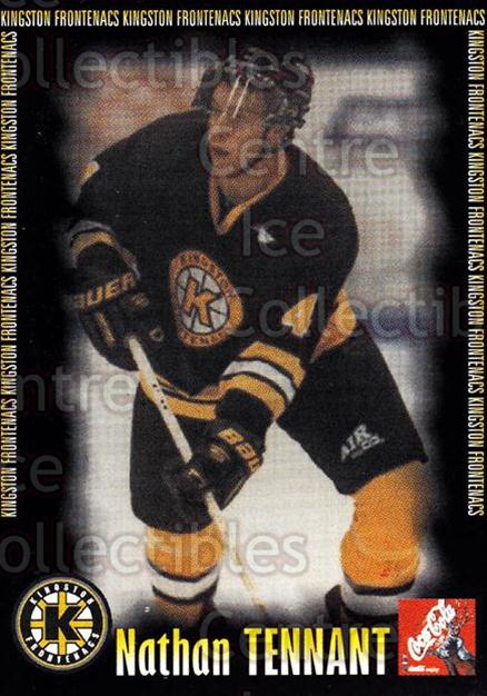 2000-01 Kingston Frontenacs #19 Nathan Tennant<br/>7 In Stock - $3.00 each - <a href=https://centericecollectibles.foxycart.com/cart?name=2000-01%20Kingston%20Frontenacs%20%2319%20Nathan%20Tennant...&price=$3.00&code=85617 class=foxycart> Buy it now! </a>