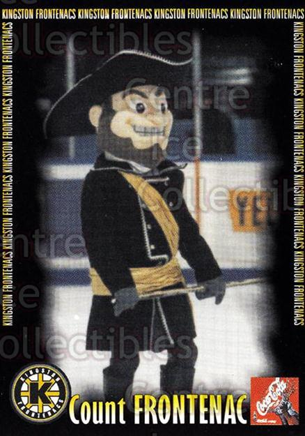 2000-01 Kingston Frontenacs #23 Mascot<br/>6 In Stock - $3.00 each - <a href=https://centericecollectibles.foxycart.com/cart?name=2000-01%20Kingston%20Frontenacs%20%2323%20Mascot...&price=$3.00&code=85623 class=foxycart> Buy it now! </a>