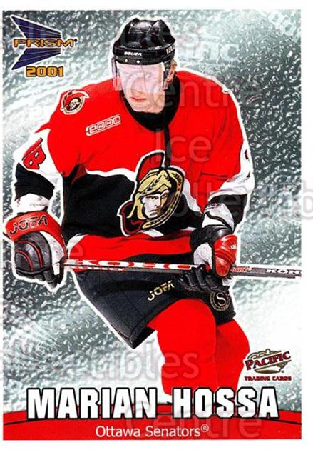 2000-01 McDonalds Pacific Checklists #5 Marian Hossa<br/>10 In Stock - $1.00 each - <a href=https://centericecollectibles.foxycart.com/cart?name=2000-01%20McDonalds%20Pacific%20Checklists%20%235%20Marian%20Hossa...&quantity_max=10&price=$1.00&code=85732 class=foxycart> Buy it now! </a>
