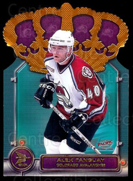 2000-01 McDonalds Pacific Gold Crown Die-Cuts #2 Alex Tanguay<br/>3 In Stock - $2.00 each - <a href=https://centericecollectibles.foxycart.com/cart?name=2000-01%20McDonalds%20Pacific%20Gold%20Crown%20Die-Cuts%20%232%20Alex%20Tanguay...&quantity_max=3&price=$2.00&code=85748 class=foxycart> Buy it now! </a>