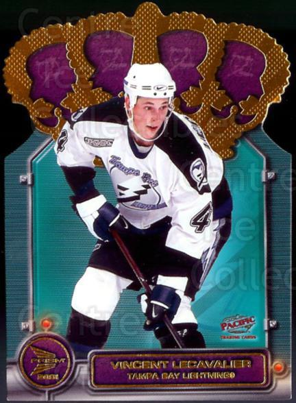 2000-01 McDonalds Pacific Gold Crown Die-Cuts #6 Vincent Lecavalier<br/>9 In Stock - $2.00 each - <a href=https://centericecollectibles.foxycart.com/cart?name=2000-01%20McDonalds%20Pacific%20Gold%20Crown%20Die-Cuts%20%236%20Vincent%20Lecaval...&quantity_max=9&price=$2.00&code=85752 class=foxycart> Buy it now! </a>