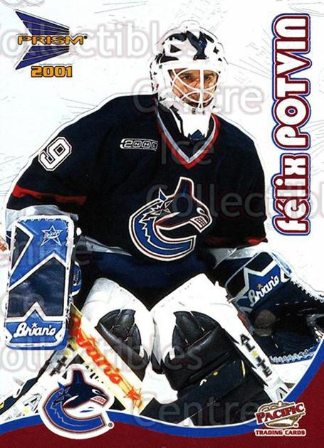 2000-01 McDonalds Pacific #35 Felix Potvin<br/>9 In Stock - $1.00 each - <a href=https://centericecollectibles.foxycart.com/cart?name=2000-01%20McDonalds%20Pacific%20%2335%20Felix%20Potvin...&quantity_max=9&price=$1.00&code=85776 class=foxycart> Buy it now! </a>