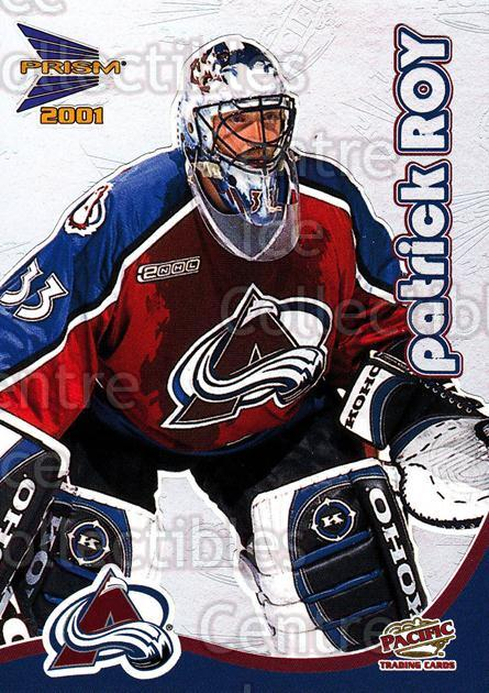 2000-01 McDonald's Pacific #9 Patrick Roy<br/>2 In Stock - $2.00 each - <a href=https://centericecollectibles.foxycart.com/cart?name=2000-01%20McDonald's%20Pacific%20%239%20Patrick%20Roy...&price=$2.00&code=85783 class=foxycart> Buy it now! </a>