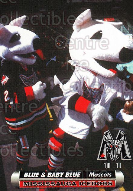 2000-01 Mississauga Ice Dogs #27 Mascot<br/>7 In Stock - $3.00 each - <a href=https://centericecollectibles.foxycart.com/cart?name=2000-01%20Mississauga%20Ice%20Dogs%20%2327%20Mascot...&quantity_max=7&price=$3.00&code=85803 class=foxycart> Buy it now! </a>