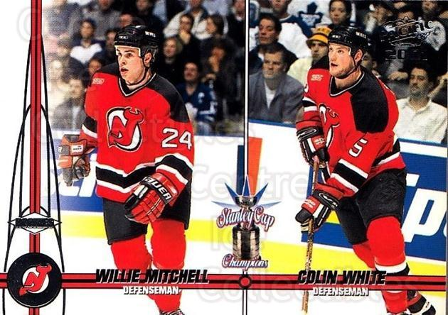 2000-01 Pacific #246 Willie Mitchell, Colin White<br/>3 In Stock - $1.00 each - <a href=https://centericecollectibles.foxycart.com/cart?name=2000-01%20Pacific%20%23246%20Willie%20Mitchell...&quantity_max=3&price=$1.00&code=86385 class=foxycart> Buy it now! </a>