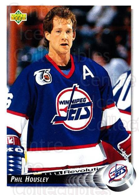 1992-93 Upper Deck #276 Phil Housley<br/>5 In Stock - $1.00 each - <a href=https://centericecollectibles.foxycart.com/cart?name=1992-93%20Upper%20Deck%20%23276%20Phil%20Housley...&quantity_max=5&price=$1.00&code=8646 class=foxycart> Buy it now! </a>