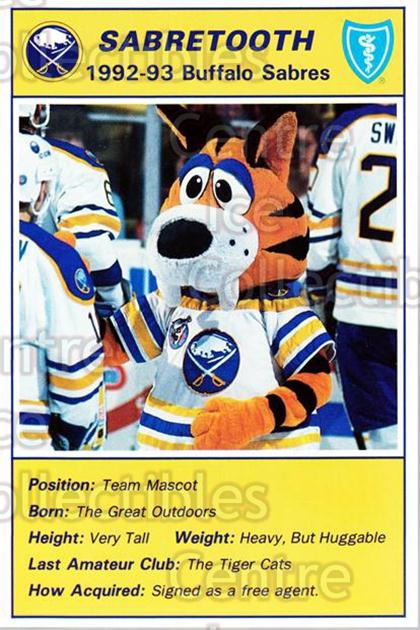 1992-93 Buffalo Sabres Blue Shield #26 Mascot<br/>1 In Stock - $3.00 each - <a href=https://centericecollectibles.foxycart.com/cart?name=1992-93%20Buffalo%20Sabres%20Blue%20Shield%20%2326%20Mascot...&quantity_max=1&price=$3.00&code=8667 class=foxycart> Buy it now! </a>