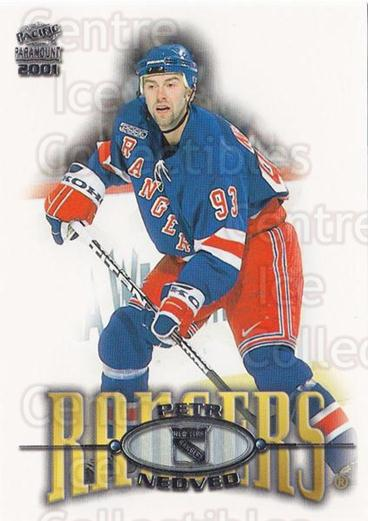 2000-01 Paramount #166 Petr Nedved<br/>6 In Stock - $1.00 each - <a href=https://centericecollectibles.foxycart.com/cart?name=2000-01%20Paramount%20%23166%20Petr%20Nedved...&quantity_max=6&price=$1.00&code=86823 class=foxycart> Buy it now! </a>