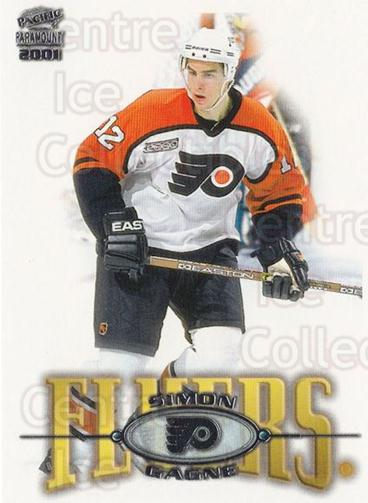 2000-01 Paramount #180 Simon Gagne<br/>3 In Stock - $1.00 each - <a href=https://centericecollectibles.foxycart.com/cart?name=2000-01%20Paramount%20%23180%20Simon%20Gagne...&quantity_max=3&price=$1.00&code=86839 class=foxycart> Buy it now! </a>