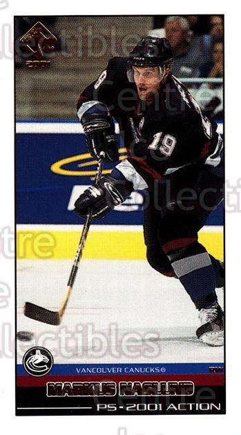 2000-01 Private Stock PS 2001 Action #58 Markus Naslund<br/>6 In Stock - $2.00 each - <a href=https://centericecollectibles.foxycart.com/cart?name=2000-01%20Private%20Stock%20PS%202001%20Action%20%2358%20Markus%20Naslund...&quantity_max=6&price=$2.00&code=87061 class=foxycart> Buy it now! </a>