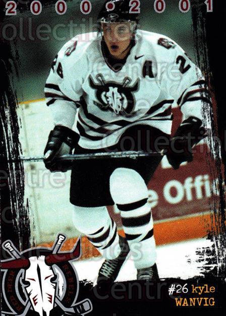 2000-01 Red Deer Rebels #22 Kyle Wanvig<br/>1 In Stock - $3.00 each - <a href=https://centericecollectibles.foxycart.com/cart?name=2000-01%20Red%20Deer%20Rebels%20%2322%20Kyle%20Wanvig...&quantity_max=1&price=$3.00&code=87228 class=foxycart> Buy it now! </a>