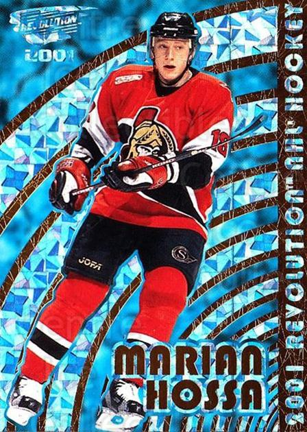 2000-01 Revolution #103 Marian Hossa<br/>8 In Stock - $1.00 each - <a href=https://centericecollectibles.foxycart.com/cart?name=2000-01%20Revolution%20%23103%20Marian%20Hossa...&quantity_max=8&price=$1.00&code=87348 class=foxycart> Buy it now! </a>