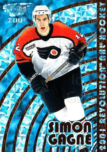 2000-01 Revolution #108 Simon Gagne<br/>3 In Stock - $1.00 each - <a href=https://centericecollectibles.foxycart.com/cart?name=2000-01%20Revolution%20%23108%20Simon%20Gagne...&quantity_max=3&price=$1.00&code=87353 class=foxycart> Buy it now! </a>