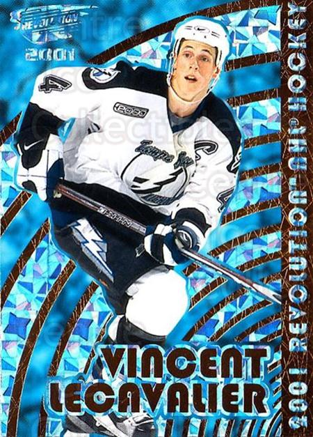 2000-01 Revolution #135 Vincent Lecavalier<br/>11 In Stock - $1.00 each - <a href=https://centericecollectibles.foxycart.com/cart?name=2000-01%20Revolution%20%23135%20Vincent%20Lecaval...&quantity_max=11&price=$1.00&code=87377 class=foxycart> Buy it now! </a>