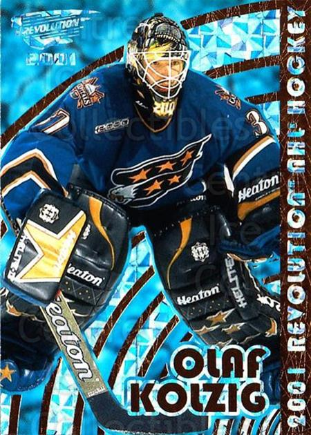 2000-01 Revolution #148 Olaf Kolzig<br/>6 In Stock - $1.00 each - <a href=https://centericecollectibles.foxycart.com/cart?name=2000-01%20Revolution%20%23148%20Olaf%20Kolzig...&quantity_max=6&price=$1.00&code=87391 class=foxycart> Buy it now! </a>