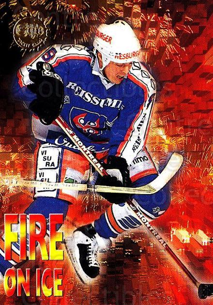 1994-95 Finnish SISU Fire On Ice #19 Janne Ojanen<br/>3 In Stock - $5.00 each - <a href=https://centericecollectibles.foxycart.com/cart?name=1994-95%20Finnish%20SISU%20Fire%20On%20Ice%20%2319%20Janne%20Ojanen...&quantity_max=3&price=$5.00&code=873 class=foxycart> Buy it now! </a>