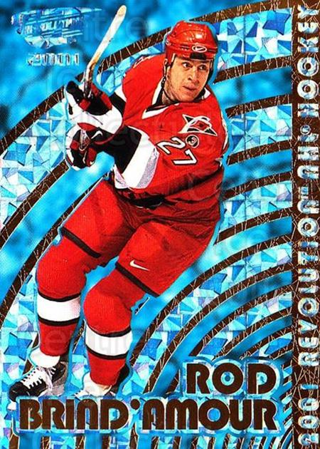 2000-01 Revolution #25 Rod Brind'Amour<br/>3 In Stock - $1.00 each - <a href=https://centericecollectibles.foxycart.com/cart?name=2000-01%20Revolution%20%2325%20Rod%20Brind'Amour...&quantity_max=3&price=$1.00&code=87404 class=foxycart> Buy it now! </a>