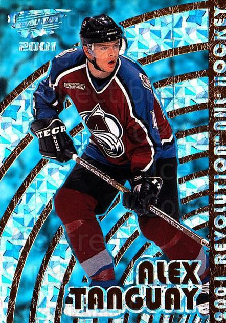 2000-01 Revolution #40 Alex Tanguay<br/>5 In Stock - $1.00 each - <a href=https://centericecollectibles.foxycart.com/cart?name=2000-01%20Revolution%20%2340%20Alex%20Tanguay...&quantity_max=5&price=$1.00&code=87416 class=foxycart> Buy it now! </a>