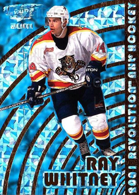 2000-01 Revolution #65 Ray Whitney<br/>2 In Stock - $1.00 each - <a href=https://centericecollectibles.foxycart.com/cart?name=2000-01%20Revolution%20%2365%20Ray%20Whitney...&quantity_max=2&price=$1.00&code=87431 class=foxycart> Buy it now! </a>