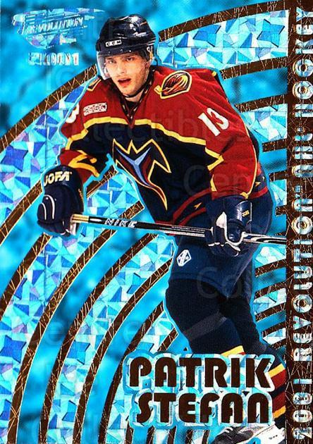 2000-01 Revolution #8 Patrik Stefan<br/>3 In Stock - $1.00 each - <a href=https://centericecollectibles.foxycart.com/cart?name=2000-01%20Revolution%20%238%20Patrik%20Stefan...&quantity_max=3&price=$1.00&code=87447 class=foxycart> Buy it now! </a>