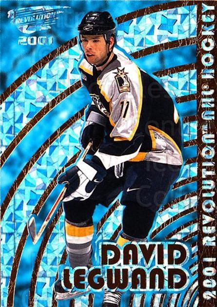 2000-01 Revolution #82 David Legwand<br/>3 In Stock - $1.00 each - <a href=https://centericecollectibles.foxycart.com/cart?name=2000-01%20Revolution%20%2382%20David%20Legwand...&quantity_max=3&price=$1.00&code=87450 class=foxycart> Buy it now! </a>