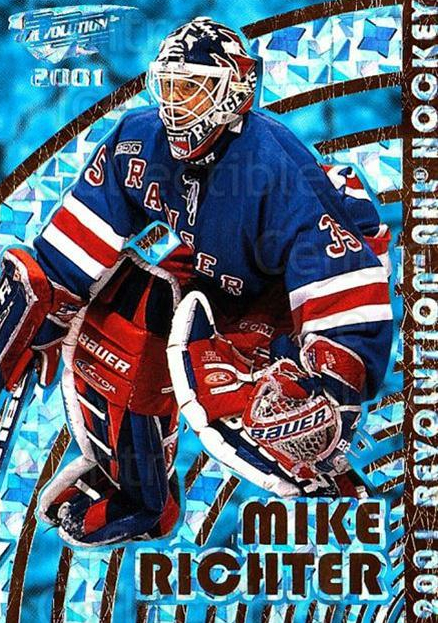 2000-01 Revolution #99 Mike Richter<br/>6 In Stock - $1.00 each - <a href=https://centericecollectibles.foxycart.com/cart?name=2000-01%20Revolution%20%2399%20Mike%20Richter...&quantity_max=6&price=$1.00&code=87462 class=foxycart> Buy it now! </a>