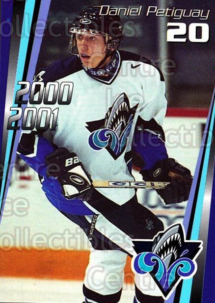 2000-01 Rimouski Oceanic #12 Daniel Petiguay<br/>7 In Stock - $3.00 each - <a href=https://centericecollectibles.foxycart.com/cart?name=2000-01%20Rimouski%20Oceanic%20%2312%20Daniel%20Petiguay...&quantity_max=7&price=$3.00&code=87490 class=foxycart> Buy it now! </a>