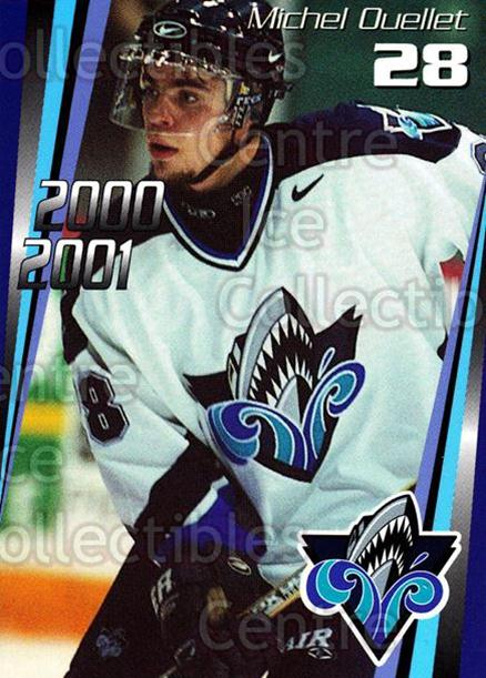2000-01 Rimouski Oceanic #19 Michel Ouellet<br/>4 In Stock - $3.00 each - <a href=https://centericecollectibles.foxycart.com/cart?name=2000-01%20Rimouski%20Oceanic%20%2319%20Michel%20Ouellet...&quantity_max=4&price=$3.00&code=87497 class=foxycart> Buy it now! </a>