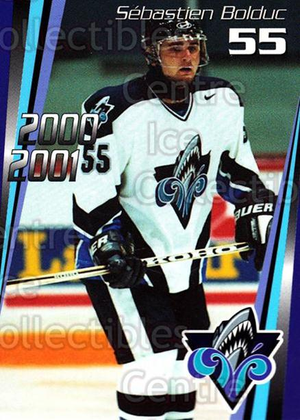 2000-01 Rimouski Oceanic #23 Sebastien Bolduc<br/>6 In Stock - $3.00 each - <a href=https://centericecollectibles.foxycart.com/cart?name=2000-01%20Rimouski%20Oceanic%20%2323%20Sebastien%20Boldu...&quantity_max=6&price=$3.00&code=87502 class=foxycart> Buy it now! </a>