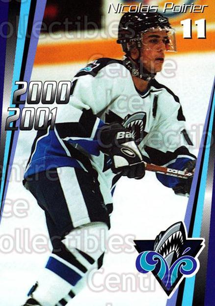 2000-01 Rimouski Oceanic #5 Nicolas Poirier<br/>7 In Stock - $3.00 each - <a href=https://centericecollectibles.foxycart.com/cart?name=2000-01%20Rimouski%20Oceanic%20%235%20Nicolas%20Poirier...&quantity_max=7&price=$3.00&code=87507 class=foxycart> Buy it now! </a>