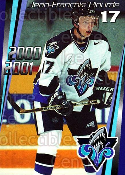 2000-01 Rimouski Oceanic #9 Jean-Francois Plourde<br/>6 In Stock - $3.00 each - <a href=https://centericecollectibles.foxycart.com/cart?name=2000-01%20Rimouski%20Oceanic%20%239%20Jean-Francois%20P...&quantity_max=6&price=$3.00&code=87511 class=foxycart> Buy it now! </a>