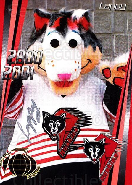 2000-01 Rouyn-Noranda Huskies Autographed #11 Mascot<br/>4 In Stock - $5.00 each - <a href=https://centericecollectibles.foxycart.com/cart?name=2000-01%20Rouyn-Noranda%20Huskies%20Autographed%20%2311%20Mascot...&quantity_max=4&price=$5.00&code=87538 class=foxycart> Buy it now! </a>
