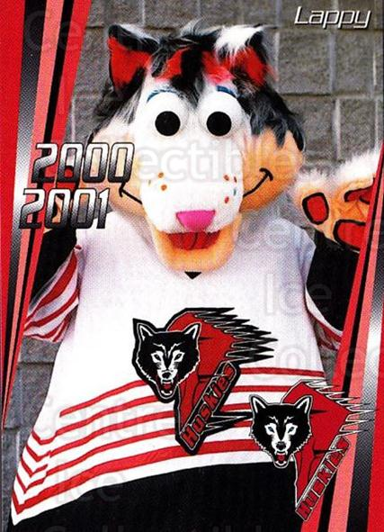 2000-01 Rouyn-Noranda Huskies #27 Mascot<br/>3 In Stock - $3.00 each - <a href=https://centericecollectibles.foxycart.com/cart?name=2000-01%20Rouyn-Noranda%20Huskies%20%2327%20Mascot...&quantity_max=3&price=$3.00&code=87564 class=foxycart> Buy it now! </a>