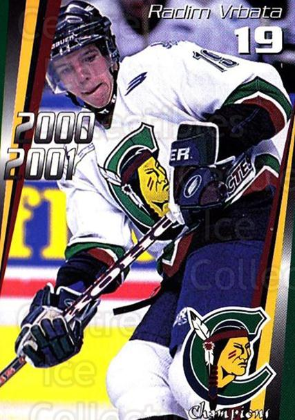 2000-01 Shawinigan Cataractes #10 Radim Vrbata<br/>1 In Stock - $3.00 each - <a href=https://centericecollectibles.foxycart.com/cart?name=2000-01%20Shawinigan%20Cataractes%20%2310%20Radim%20Vrbata...&quantity_max=1&price=$3.00&code=87736 class=foxycart> Buy it now! </a>