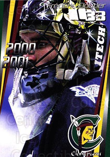 2000-01 Shawinigan Cataractes #17 Frederic Cloutier<br/>2 In Stock - $3.00 each - <a href=https://centericecollectibles.foxycart.com/cart?name=2000-01%20Shawinigan%20Cataractes%20%2317%20Frederic%20Clouti...&quantity_max=2&price=$3.00&code=87742 class=foxycart> Buy it now! </a>